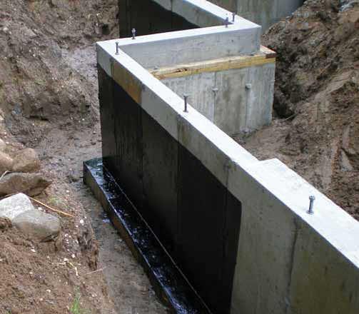 Elastomeric Waterproofing Membrane : Στεγανοποίηση υπογείων εξωτερικά dapedotexniki